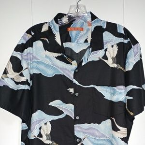 "Tori Richard ""FLIGHT"" Shirt. NWOT"